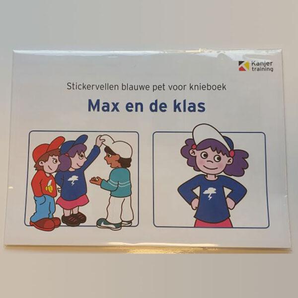 Stickervel Max en de klas